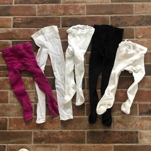 Other - 🌸5 pair 12-24 mo tights